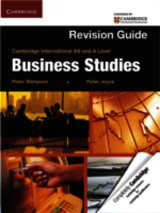 Cambridge International As And A Level Business Studies Revision Guide - Stimpson, Peter; Joyce, Peter - ISBN: 9781107604773