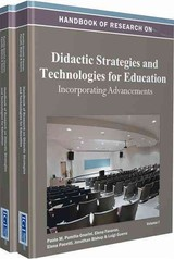 Handbook Of Research On Didactic Strategies And Technologies For Education - Pumilia-gnarini, Paolo M./ Favaron, Elena/ Pacetti, Elena/ Bishop, Jonathan/ Guerra, Luigi - ISBN: 9781466621220