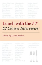 Lunch With The Ft - Barber, Lionel (EDT) - ISBN: 9780670922840