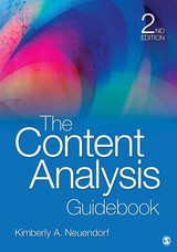Content Analysis Guidebook - Neuendorf, Kimberly A. - ISBN: 9781412979474
