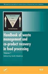 Handbook Of Waste Management And Co-product Recovery In Food Processing - Waldron, Keith (EDT) - ISBN: 9781845690250