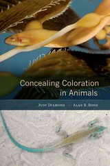 Concealing Coloration In Animals - Bond, Alan B.; Diamond, Judy - ISBN: 9780674052352