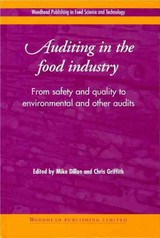 Woodhead Publishing Series in Food Science, Technology and Nutrition, Auditing in the Food Industry - ISBN: 9781855734500