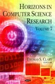 Horizons In Computer Science Research - Clary, Thomas S. (EDT) - ISBN: 9781619427747