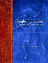 English Grammar + MyCompLab Access Card Includes Pearson EText - Barry, Anita K. - ISBN: 9780321891259
