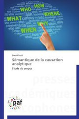 Semantique De La Causation Analytique - Chatti-s - ISBN: 9783838172712