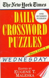 New York Times Daily Crossword Puzzles (wednesday), - Maleska - ISBN: 9780804115810