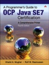 Programmer's Guide To Java Se 8 Oracle Certified Associate (oca) - Mughal, Khalid Azim; Rasmussen, Rolf W. - ISBN: 9780132930215