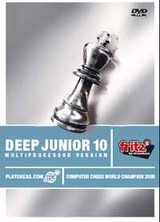 Deep Junior 10, 1 DVD-ROM - ISBN: 4027975004488