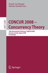 Concur 2008 - Concurrency Theory - ISBN: 9783540853602