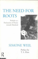 Need For Roots - Weil, Simone - ISBN: 9780415119597