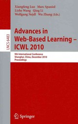 Advances In Web-based Learning - Icwl 2010 - Luo, Xiangfeng (EDT)/ Spaniol, Marc (EDT)/ Wang, Lizhe (EDT)/ Li, Qing (EDT)/ Nejdl, Wolfgang (EDT) - ISBN: 9783642174063