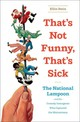 That's Not Funny, That's Sick - Stein, Ellin - ISBN: 9780393074093
