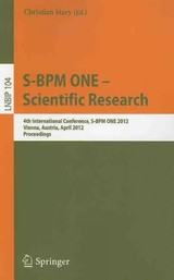 S-bpm One - Scientific Research - Stary, Christian (EDT) - ISBN: 9783642291326