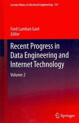 Recent Progress In Data Engineering And Internet Technology - Gaol, Ford Lumban (EDT) - ISBN: 9783642287978