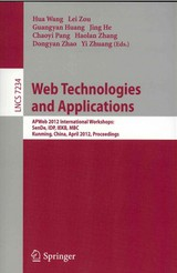 Web Technologies and Applications - ISBN: 9783642294259