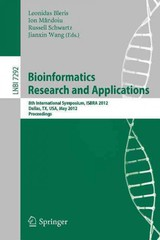 Bioinformatics Research and Applications - ISBN: 9783642301902