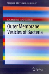 Outer Membrane Vesicles Of Bacteria - Chatterjee, S. N./ Chaudhuri, Keya - ISBN: 9783642305252