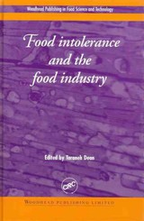 Food Intolerance And The Food Industry - Dean, Taraneh (EDT) - ISBN: 9781855734975