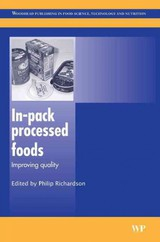 Woodhead Publishing Series in Food Science, Technology and Nutrition, In-Pack Processed Foods - ISBN: 9781845692469