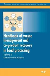 Handbook Of Waste Management And Co-product Recovery In Food Processing - Waldron, Keith (EDT) - ISBN: 9781845693916