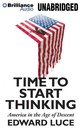 Time To Start Thinking - Luce, Edward/ Lister, Ralph (NRT) - ISBN: 9781455895397