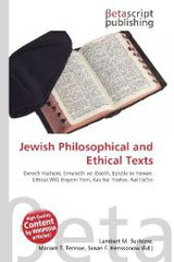 Jewish Philosophical and Ethical Texts - ISBN: 9786130940232