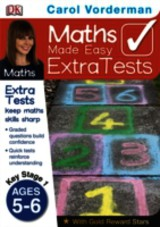 Maths Made Easy Extra Tests Age 5-6 - Vorderman, Carol - ISBN: 9781409365914
