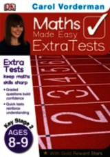 Maths Made Easy Extra Tests Age 8-9 - Vorderman, Carol - ISBN: 9781409323655