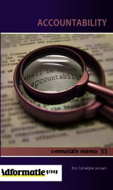 Accountability - Cathelijne Janssen - ISBN: 9789491560392