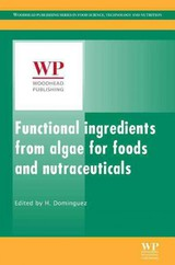 Functional Ingredients From Algae For Foods And Nutraceuticals - Dominguez, Herminia (EDT) - ISBN: 9780857095121