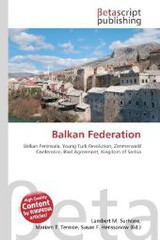 Balkan Federation - ISBN: 9786130945824