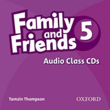 Family And Friends 5: Class Audio Cd - ISBN: 9780194802925
