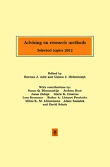 Advising on research methods - ISBN: 9789079418282
