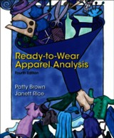 Ready-to-wear Apparel Analysis - Brown, Patty; Rice, Jannett - ISBN: 9780133109894