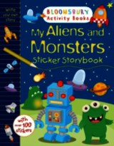 My Aliens And Monsters Sticker Storybook - ISBN: 9781408845424