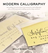 Modern Calligraphy - Thorpe, Molly Suber - ISBN: 9781250016324