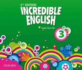 Incredible English: 3: Class Audio Cds (3 Discs) - ISBN: 9780194442220