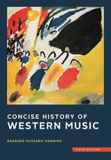 Concise History Of Western Music - Hanning, Barbara Russano - ISBN: 9780393920666