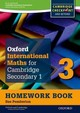 Complete Mathematics For Cambridge Secondary 1 Homework Book 3 (pack Of 15) - Hockin, Joanne - ISBN: 9780199137121