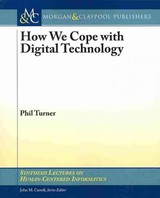 How We Cope With Digital Technology - Turner, Phil - ISBN: 9781627051019