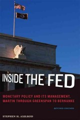 Inside The Fed - Axilrod, Stephen H. - ISBN: 9780262525138