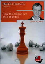 How to Combat Rare Lines as Black - Tiviakov, S. - ISBN: 4027975007700