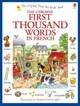 First Thousand Words In French - Amery, Heather - ISBN: 9781409566113