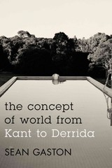 Concept Of World From Kant To Derrida - Gaston, Sean - ISBN: 9781783480005