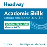 Headway Academic Skills: Introductory: Listening, Speaking, And Study Skills Class Audio Cds (2) - Philpot, Sarah; Curnick, Lesley - ISBN: 9780194741897