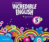 Incredible English: 5: Class Audio Cds (3 Discs) - ISBN: 9780194442244