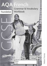Aqa Gcse French Foundation Grammar And Vocabulary Workbook Pack - (NA) - ISBN: 9781408516270