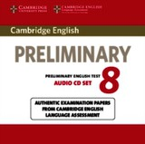 Cambridge English Preliminary 8 Audio Cds (2) - ISBN: 9781107672437