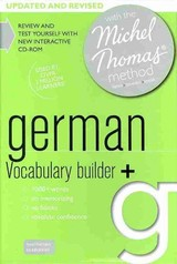 German Vocabulary Builder+ (learn German With The Michel Thomas Method) - O'dowd, Marion - ISBN: 9781444197617
